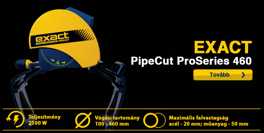 exact pipecut 460